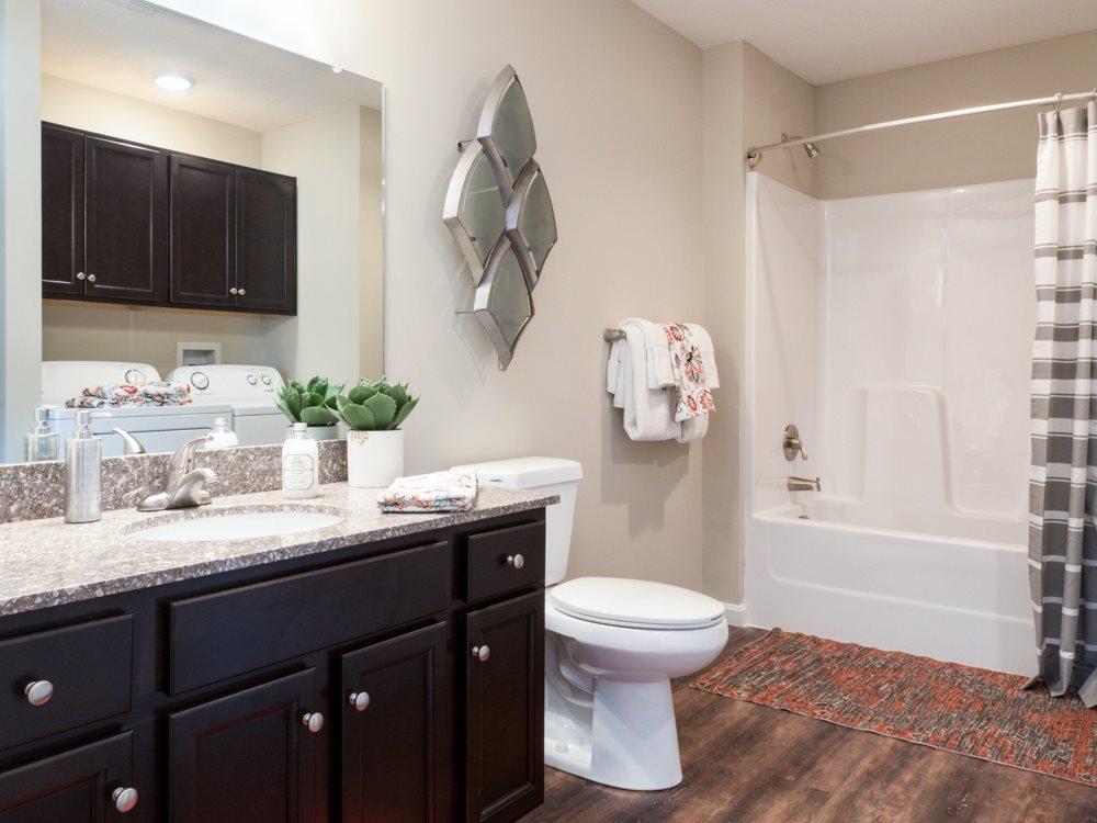 Redwood Living Apartment Bathroom