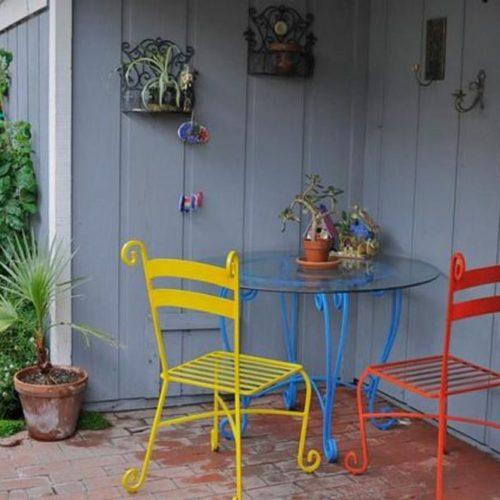 maximize apartment patio space