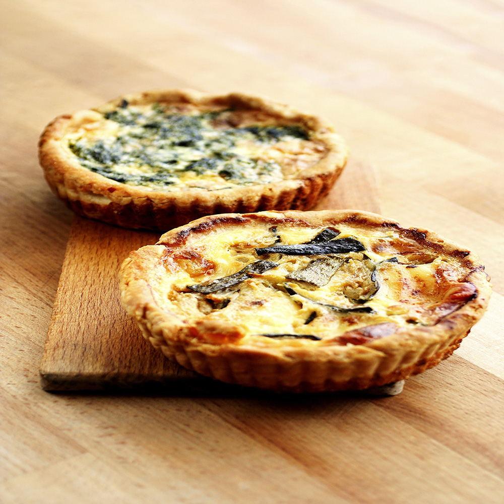 quiche is an easy lunch recipe for busy professionals