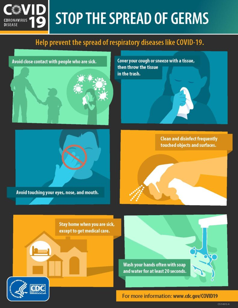 Stop the spread of germs CDC