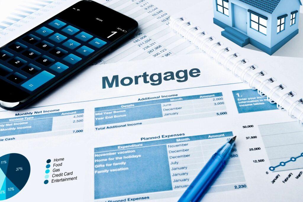 Mortgage plus Maintenance Costs