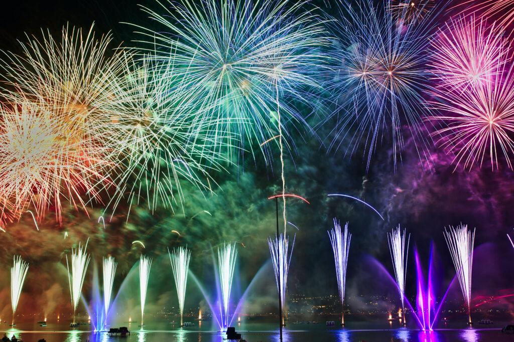 Redwood Celebration Fireworks