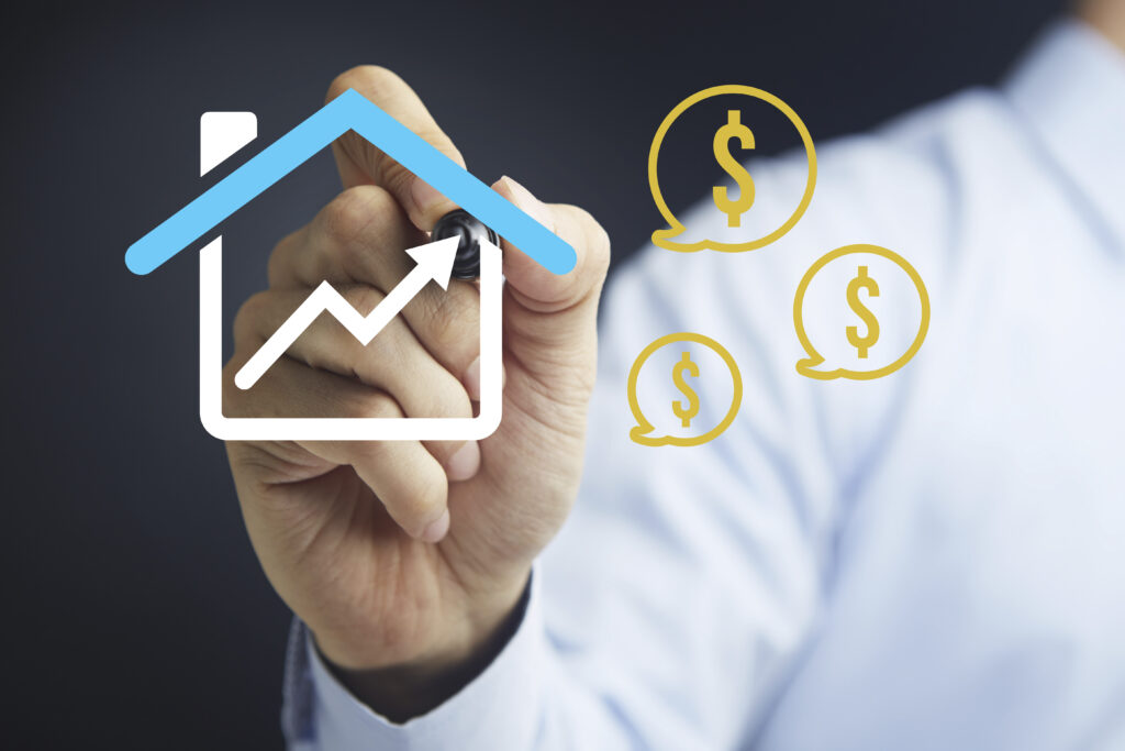 Real estate profit strategies by selling high and buying low