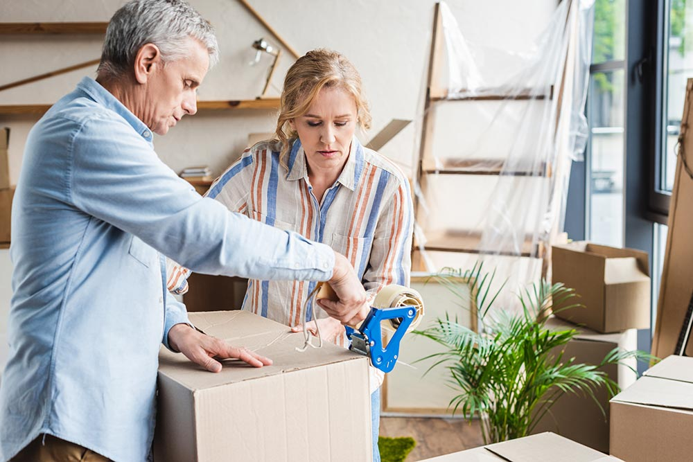 What to move from a home to an apartment
