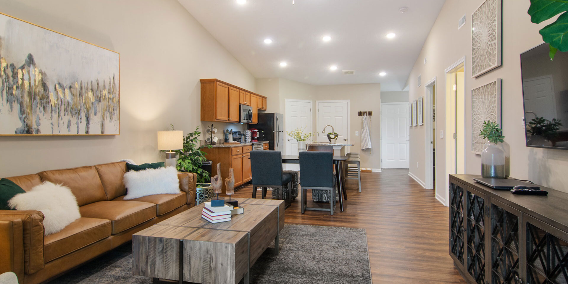 Explore a Redwood Apartment via Virtual Tour